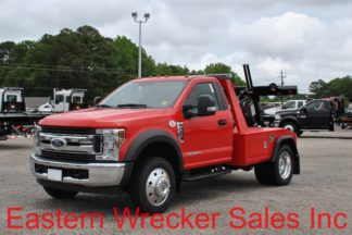 2018 Ford F450 XLT 6.7L Turbodiesel Automatic with Jerr-Dan MPL-NGS Self Loading Wheellift, Stock #F0805