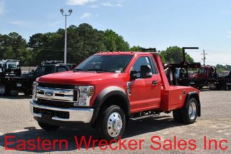 2018 Ford F450 Gas XLT with Jerr-Dan MPL-NGS Wrecker, Stock #F1832