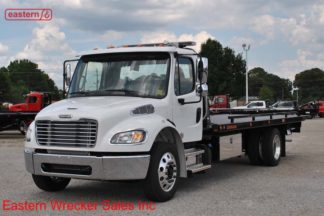 2019 Freightliner Regular Cab M2 106 with 22ft Jerr-Dan SRR6T-WLP Steel Carrier
