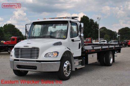 2019 Freightliner Regular Cab M2 106 with 22ft Jerr-Dan SRR6T-WLP Steel Carrier