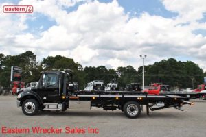 2019 Freightliner Regular Cab M2 106 with 22ft Jerr-Dan SRR6T-WLP Steel Carrier Stock #F6987