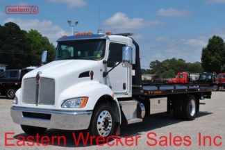 2019 Kenworth T270 300hp with 22ft Jerr-Dan SRR6T_WLP Steel Carrier - Stock #K6290