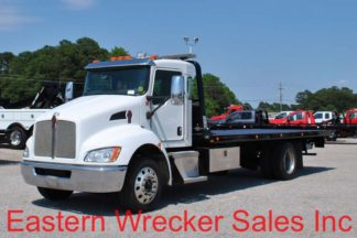 2016 Kenworth T270 with 22ft Jerr-Dan SRR6T-WLP Steel Carrier, Stock #U1551