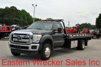 2014 Ford F550, 6.8LEFI Gas, Automatic, with 19' Century Steel Carrier, Stock #U7545