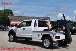 2017 Ford F550 Extended Cab with Jerr-Dan MPL-NG Aluminum Body Wheellift Wrecker Stock #F2092