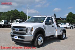 2018 Ford F450 4x4 XLT with Jerr-Dan MPL-NG Aluminum Body Wrecker Stock #F6174