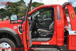 2018 Ford F450 4x4 with Jerr-Dan MPL-NG Aluminum Body Wheellift Wrecker Stock #F6175