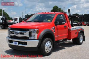 2018 Ford F450 4x4 with Jerr-Dan MPL-NG Aluminum Body Wheellift Wrecker Stock #F6175