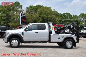 2017 Ford F550 XLT Extended Cab with Jerr-Dan MPL40 Twin Line Aluminum Body Wrecker Stock #F7271