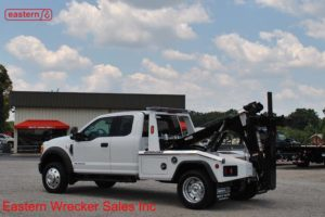 2017 Ford F550 Extended Cab XLT with Jerr-Dan MPL40 Twin Line Wrecker Stock #F7692