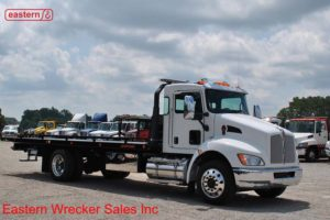 2019 Kenworth T270 300hp with 22ft Jerr-Dan SRR6T-WLP Steel Carrier Stock #K0968