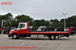 2011 Hino with 21ft Jerr-Dan Steel Carrier Stock #U0721A