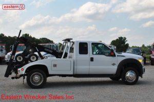 2011 Ford F450 Extended Cab XLT with Century 312 Twin Line Wrecker Stock #U9231