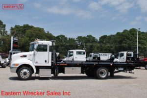 2019 Peterbilt 337 with 22ft Jerr-Dan SRR6T-WLP Steel Carrier Stock #P7755