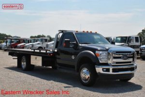 2016 Ford F550 with 19ft Chevron Steel Carrier Stock #U7417