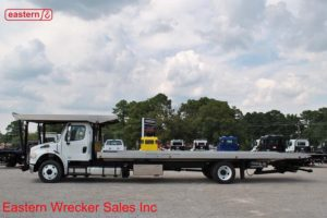 2014 Freightliner with 30ft Chevron Aluminum Carrier Stock #U9512