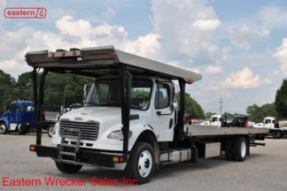 2014 Freightliner with 30ft Chevron Aluminum Carrier Stock #U9512