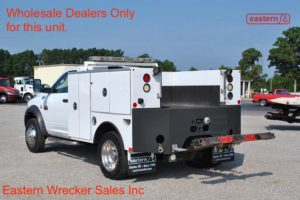 2011 Dodge Ram 4500 with Summit Battery Body and Jerr-Dan Wheellift Stock #U9673 **Wholesale Dealers Only**