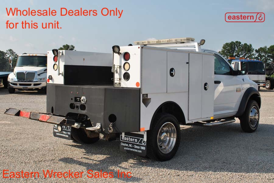 2011 Dodge Ram 4500 with Summit Battery Body and Jerr-Dan