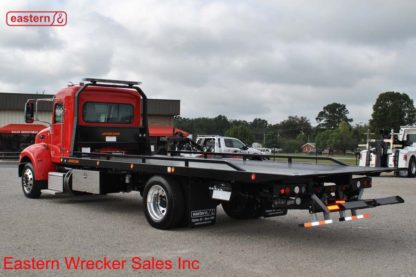 2019 Peterbilt 337 Extended Cab with 22ft Jerr-Dan SRR6T-WLP Steel Carrier Stock #P9457