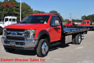 2018 Ford F550 XLT with 20ft Jerr-Dan SRR6T-WLP Steel Carrier Stock #F6101