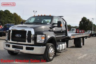 2018 Ford F650 Extended Cab with 22ft Jerr-Dan NGAF6T-WLP Aluminum Low Profile Carrier Stock #F6415