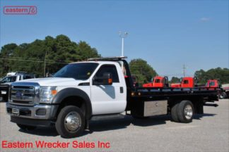 2012 Ford F550 V-10 Gas with 19ft Century Steel Carrier Stock #U2383