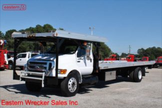 2011 Ford F750 with 20ft Jerr-Dan Multicar Carrier Stock #U7541