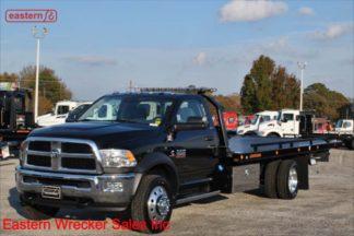 2018 Dodge 5500 SLT 6.7L Dodge Automatic with 20ft Jerr-Dan SRR6T-WLP Low Profile Steel Carrier Stock Number D4504