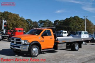 2018 Dodge 5500 4x4 with 20ft Jerr-Dan NGAF6T-WLP Aluminum Carrier Stock Number D4818