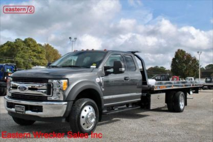 2017 Ford F550 Ext Cab XLT 6.7L Turbodiesel Automatic with 20ft Jerr-Dan NGAF6T-WLP Aluminum Carrier Stock Number F7268