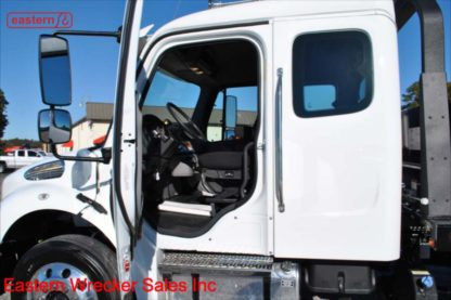 2019 Freightliner Extended Cab Cummins 6.7 Allison automatic Air Brake Air Ride 22.5 tires 22ft Jerr-Dan Steel SRR6T-WLP Carrier Stock Number F8261