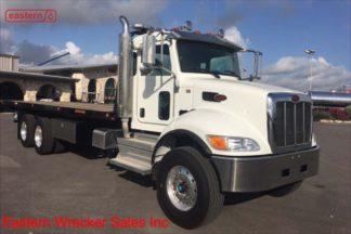 2018 Peterbilt 348 with 28ft Jerr-Dan 15-ton Transporter Industrial Carrier Stock Number P6637