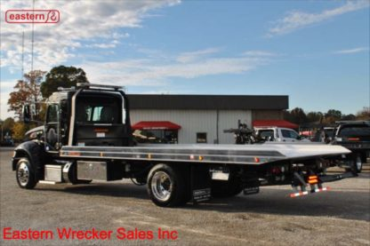2019 Peterbilt Extended Cab 300hp Allison automatic with 22ft Jerr-Dan NGAF6T-WLP Aluminum Carrier Stock Number P9454