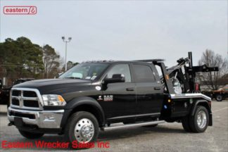 2018 Dodge 5500 4x4 Crew Cab SLT, Cummins, Automatic, with Jerr-Dan MPL40 Twin Line Wrecker, Stock Number D2579