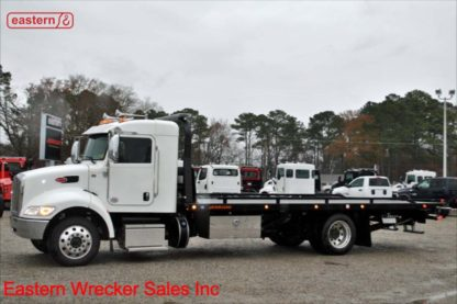 2019 Peterbilt 337 Extended Cab, 300hp, Allison Automatic, Air Ride, Air Brake, with 22ft Jerr-Dan SRR6T-WLP Steel Carrier, Stock Number P9461