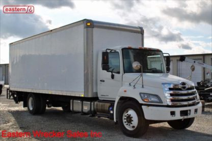 2011 Hino 268 with 26ft Morgan Box and Maxon 3300lb Liftgate, Stock Number U2764