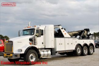 2012 Kenworth T800, ISX15 600hp, 18-spd, Jerr-Dan HDL1000/530INT 50-ton Wrecker Stock Number U4790