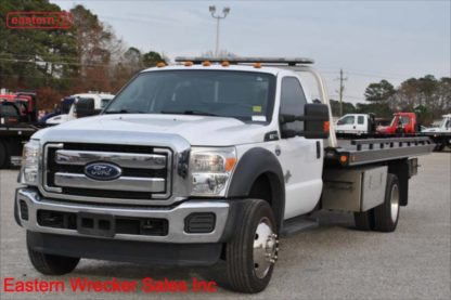 2015 Ford F550, 6.7L Powerstroke, Automatic, with 19ft Chevron Steel Carrier, IRL Wheel LIft, Stock Number U5497