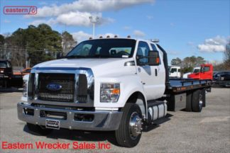 2019 Ford F650 Ext Cab 6.7L Turbodiesel Auto 22ft Jerr-Dan Steel Carrier Stock Number F1688