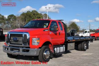 2019 Ford F650 Ext Cab 6.7L Turbodiesel Auto 22ft Jerr-Dan Steel Carrier Stock Number F5564
