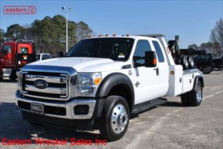 2016 Ford F550 Extended Cab with Jerr-Dan MPL40 Twin Line Wrecker Stock Number U7155