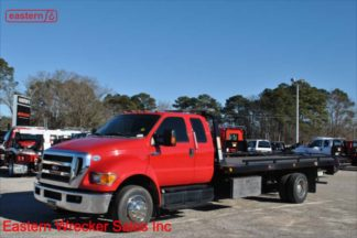 2015 Ford F650 Extended Cab with 21ft Jerr-Dan RRSB-W Steel Carrier, Stock Number U8465A