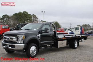 2019 Ford F550 XLT 6.7L Turbodiesel TorqShift Automatic with 20ft Jerr-Dan SRR6T-WLP Steel Carrier, Stock Number F7901