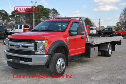 2017 Ford F550 V10 Gas with 19ft Danco Aluminum Carrier, Stock Number U1917