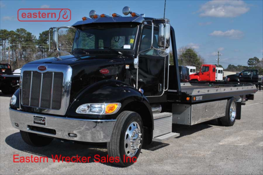 2017 Peterbilt 337 with 21ft Century Steel Carrier | Eastern