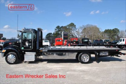 2017 Peterbilt 337, Paccar PX-7-300hp, Allison automatic, Air Ride, 21ft Century Steel Carrier, Stock Number U2001