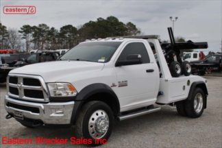 2015 Dodge Ram 4500 4x4 6.7L Cummins Automatic with Jerr-Dan MPL-NGS Self Loading Wheel Lift, Stock Number U6844