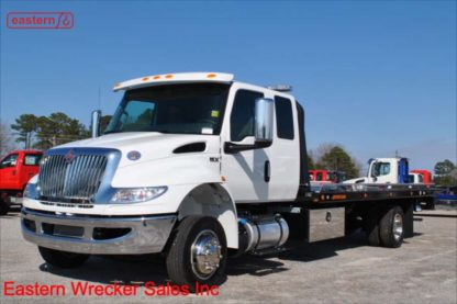 2019 International Extended Cab, 6.7L Cummins, Automatic, 22ft Jerr-Dan SRR6T-WLP Steel Carrier, Stock Number I5551