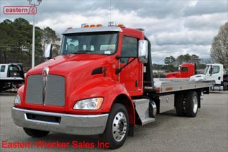 2019 Kenworth T270 PX-7-300hp, Air Brake, Air Ride, 22ft Jerr-Dan NGAF6T-WLP Aluminum Carrier, Stock Number K0973